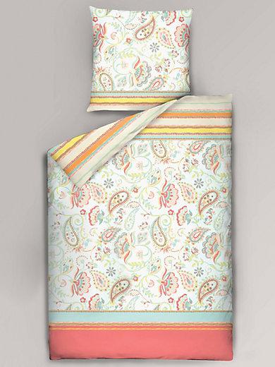 Dormisette - Bettwäsche-Garnitur aus Mako-Satin, ca. 155x220cm