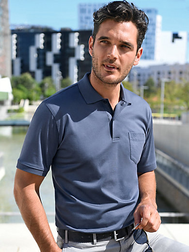 E.Muracchini - Polo shirt with 1/2-length sleeves