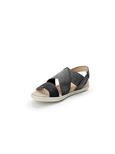Damara sandals in 100% leather Ecco grey Ecco 1WXS6n4L