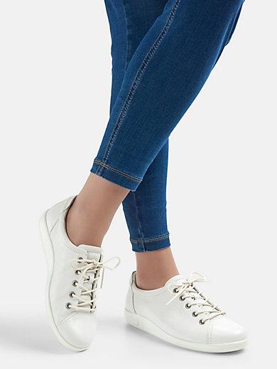 0e0d10235e3 Ecco - Sneakers för kvinnor - pärlvit