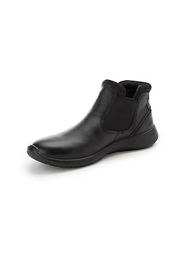 6162ffa497d7dc Ecco - Stiefelette Soft 5 aus 100% Leder - Schwarz