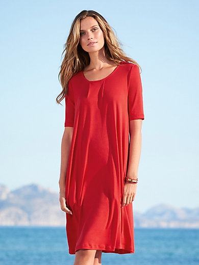 Efixelle - Jersey dress with 1/2-length sleeves