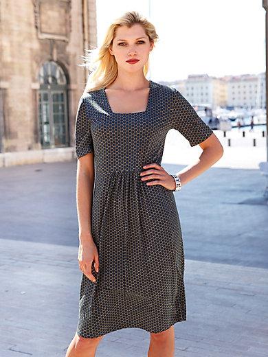 Efixelle - Jersey-Kleid mit 1/2 Arm
