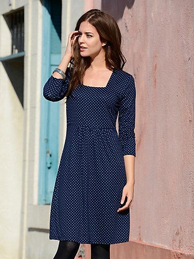 Efixelle - Jersey-Kleid mit 3/4 Arm