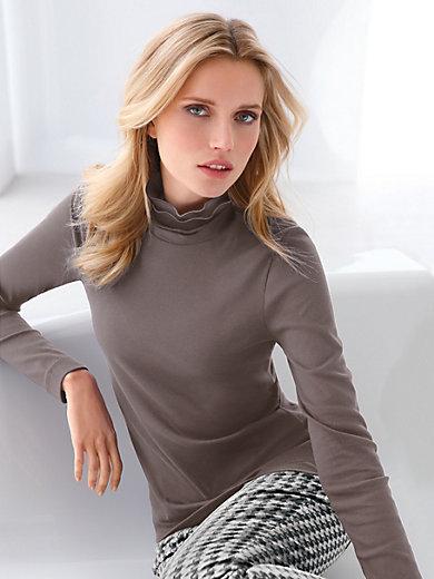 Efixelle - Shirt met staand halsboordje