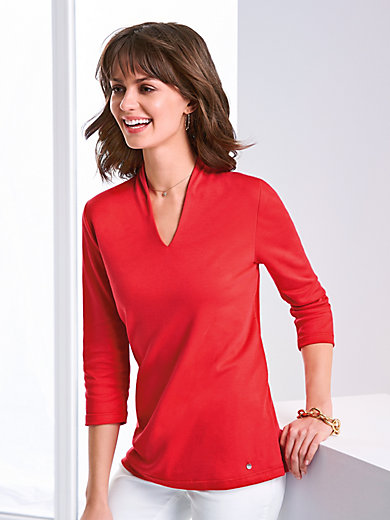 Efixelle - Top with 3/4-length sleeves