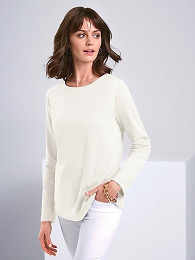 Efixelle - Top with boat neckline