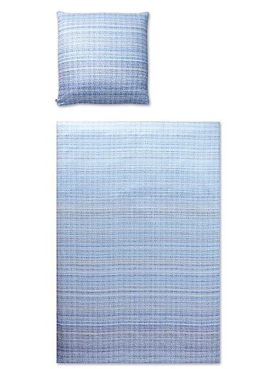 Elegante - Bettwäsche-Garnitur aus Mako-Satin, ca. 155x200cm