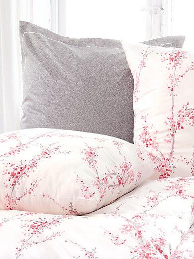 elegante bettw sche garnitur aus satin ca 135x200cm grau. Black Bedroom Furniture Sets. Home Design Ideas