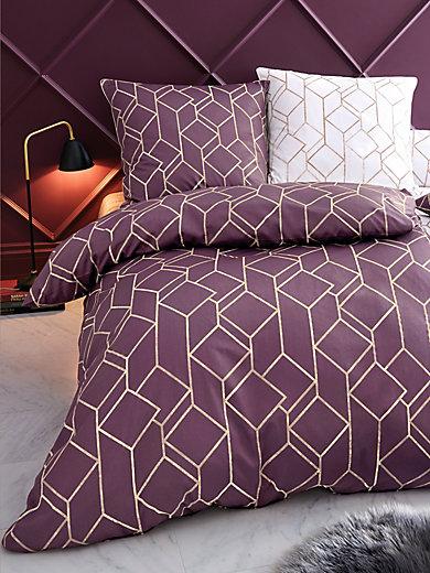 Elegante - Bettwäsche-Garnitur aus Satin