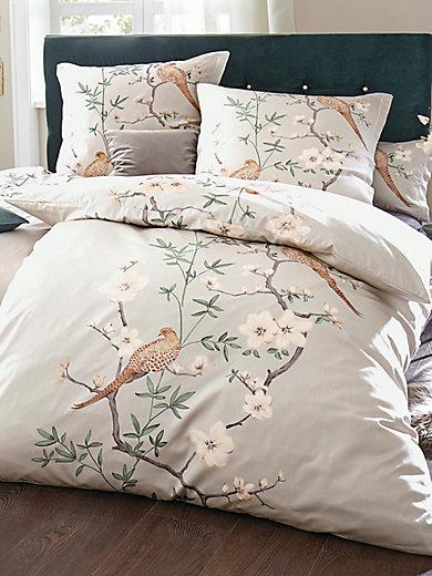 Elegante - exklusive Bettwäsche-Garnitur aus Mako-Satin