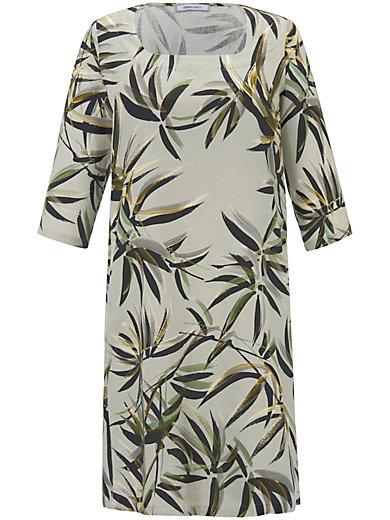 Elena Miro - Leinen-Kleid mit 3/4-Arm