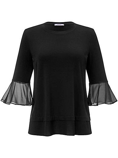 Elena Miro - Rundhals-Shirt mit 3/4-Arm
