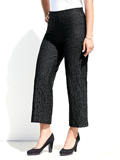 7/8-length pull-on trousers Emilia Lay black Emilia Lay BrSAg9ZoGc