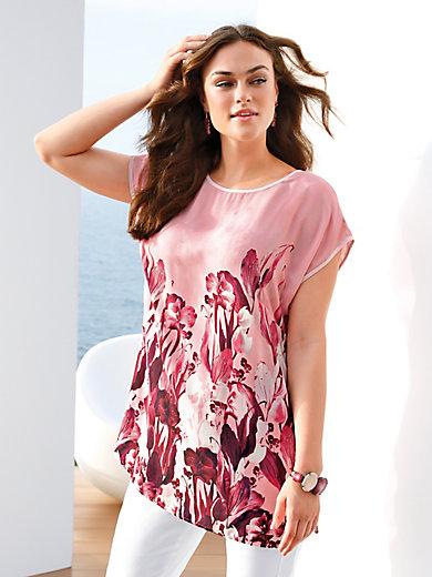 Emilia Lay - Bluse med overskåne skuldre.