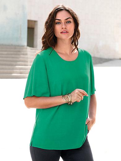 Emilia Lay - Bluse mit Rundhals-Ausschnitt
