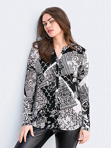 Emilia Lay - Bluse mit V-Ausschnitt