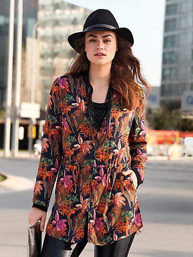 Emilia Lay - Blusen-Jacke mit Print