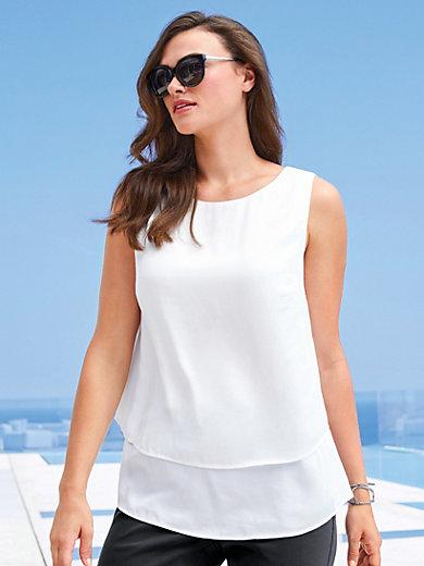 Emilia Lay - Blusentop mit Rundhals-Ausschnitt