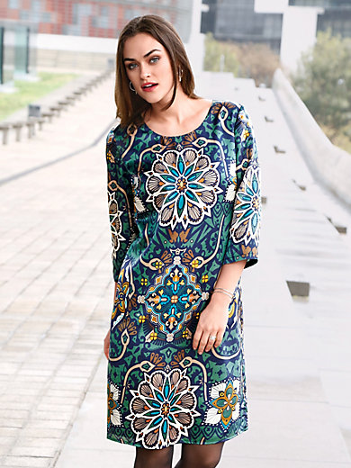 Dress 3/4-length sleeves Emilia Lay blue Emilia Lay Fast Delivery Discount New Styles 2eUw4y