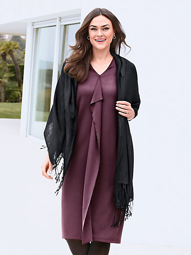 Jersey dress 1/2-length sleeves Emilia Lay black Emilia Lay Nh2kXy