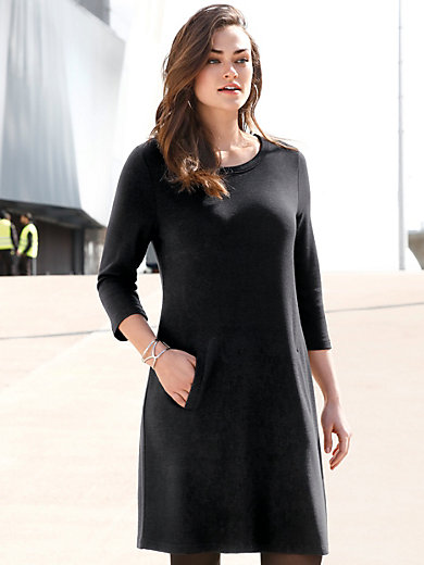 Emilia Lay - Kurzes Jersey-Kleid mit 3/4-Arm