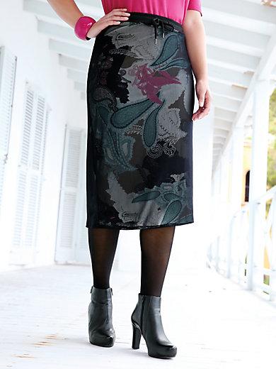 Emilia Lay - La jupe à imprimé cachemire