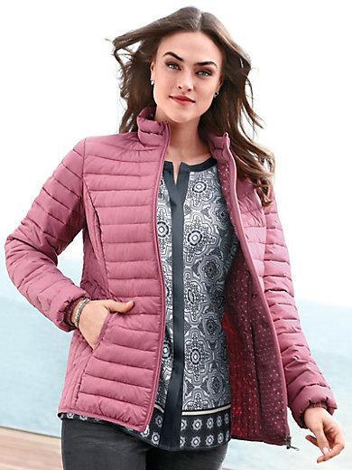La Emilia bois de montant rose matelassée Lay veste légère col 1wApw5q