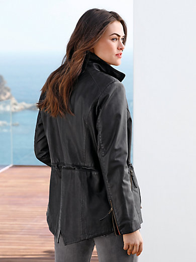 Emilia Lay - Leather parka