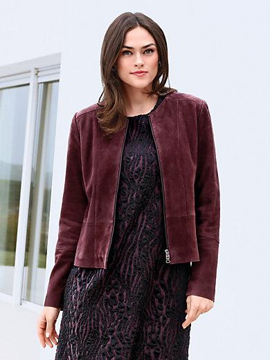 Emilia Lay - Lederjacke aus Ziegenvelour