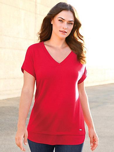 Emilia Lay - Long-Shirt mit überschnittener Schulter