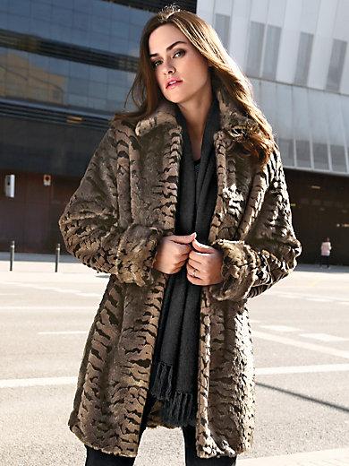 Emilia Lay - Mantel aus sehr hochwertigem Webpelz