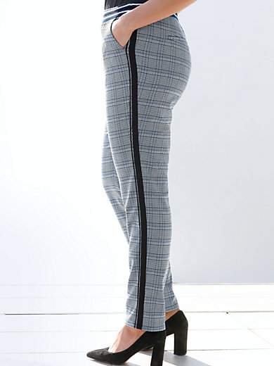 Emilia Lay - Pull-on ankle-length trousers