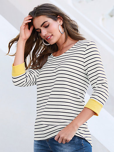 Emilia Lay - Ringel-Shirt mit 3/4-Arm