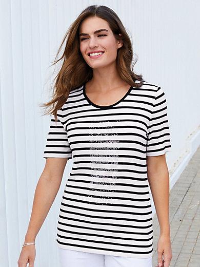 Emilia Lay - Streifen-Shirt mit Rundhals-Ausschnitt