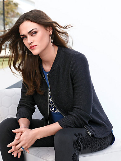 Emilia Lay - Strick-Blouson