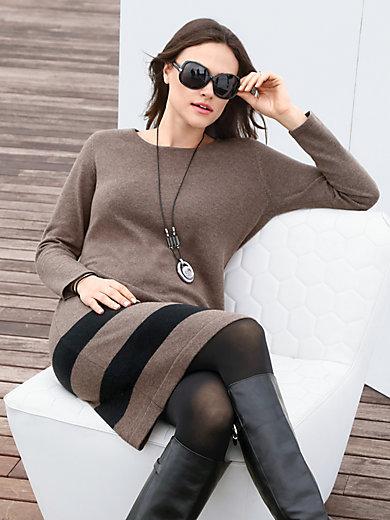 Emilia Lay - Strickkleid aus Schurwolle-Merino mit Seide