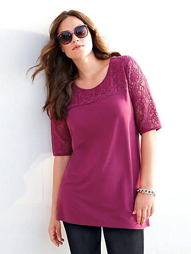 Emilia Lay - T-shirt med rund halsudskæring