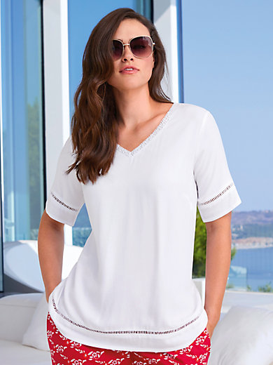 Emilia Lay - Top with short sleeves