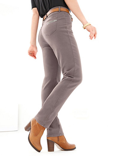 Emilia Lay - Trousers - BLUE STYLE
