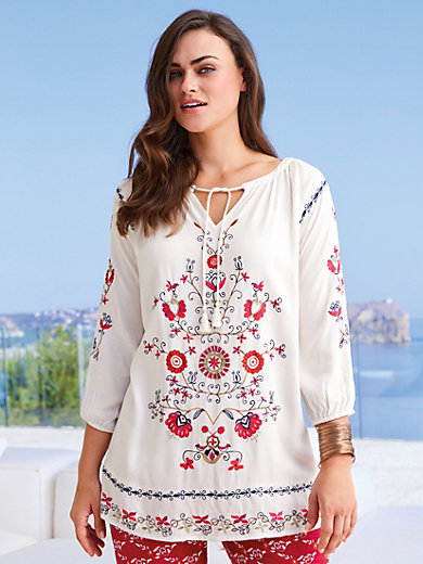 Emilia Lay - Tunic top with raglan sleeves