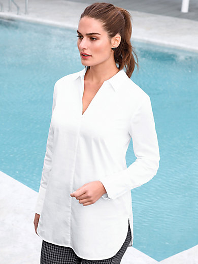 Emilia Lay - Tunika mit offenem Hemdkragen