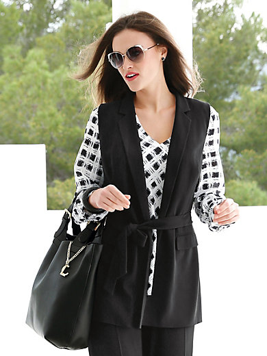 Gilet Emilia Lay black Emilia Lay Real Sale Online Cheap Top Quality Manchester Online Shipping Discount Authentic hsf5zF4n