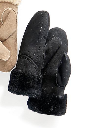 Emu - Lammfell-Fäustling