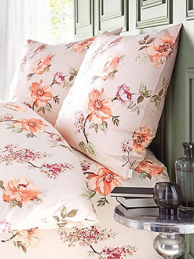estella 2 teilige bettw sche garnitur ca 135x200cm lachs. Black Bedroom Furniture Sets. Home Design Ideas