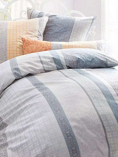 estella bettw sche garnitur ca 135x200cm grau beige. Black Bedroom Furniture Sets. Home Design Ideas