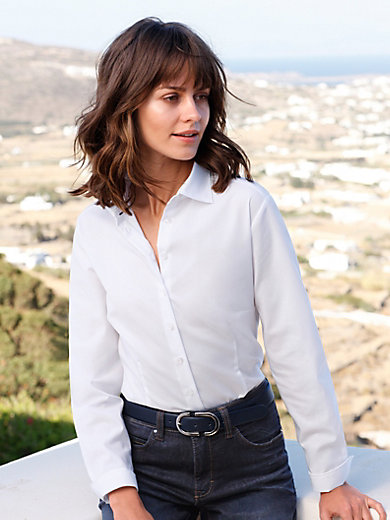 Eterna - Blouse with long sleeves