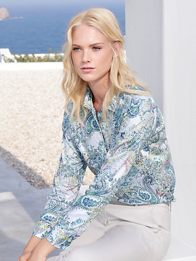Eterna - Blouse with paisley design