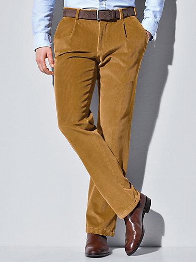 sehr bequem niedrigerer Preis mit Schnäppchen für Mode Bundfalten-Cordhose Modell Luis