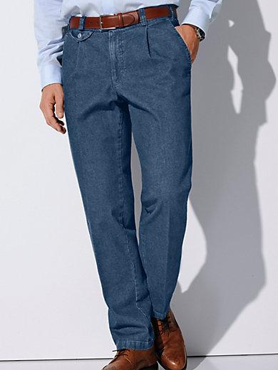eurex by brax jeans blue denim. Black Bedroom Furniture Sets. Home Design Ideas